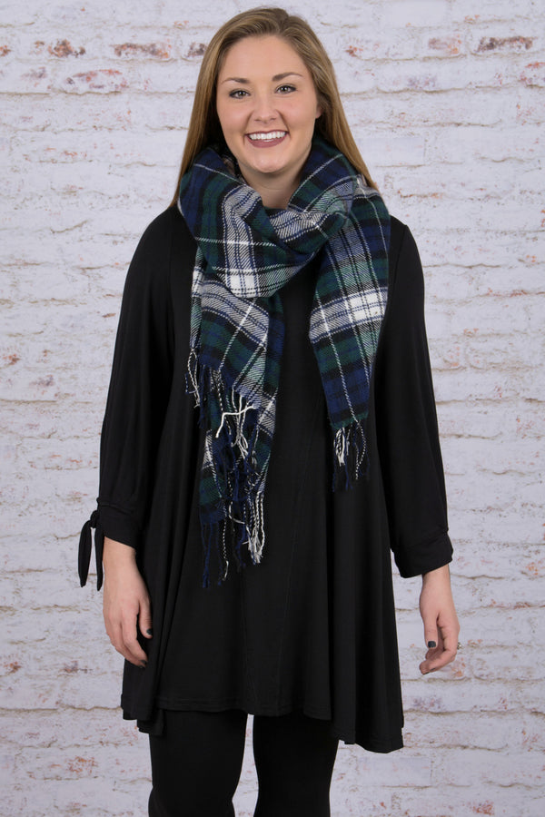 All Tied Up Tunic, Black