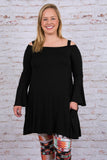 Best Is Yet to Come Tunic, Black