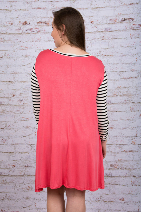 A Day to Remember Dress, Coral