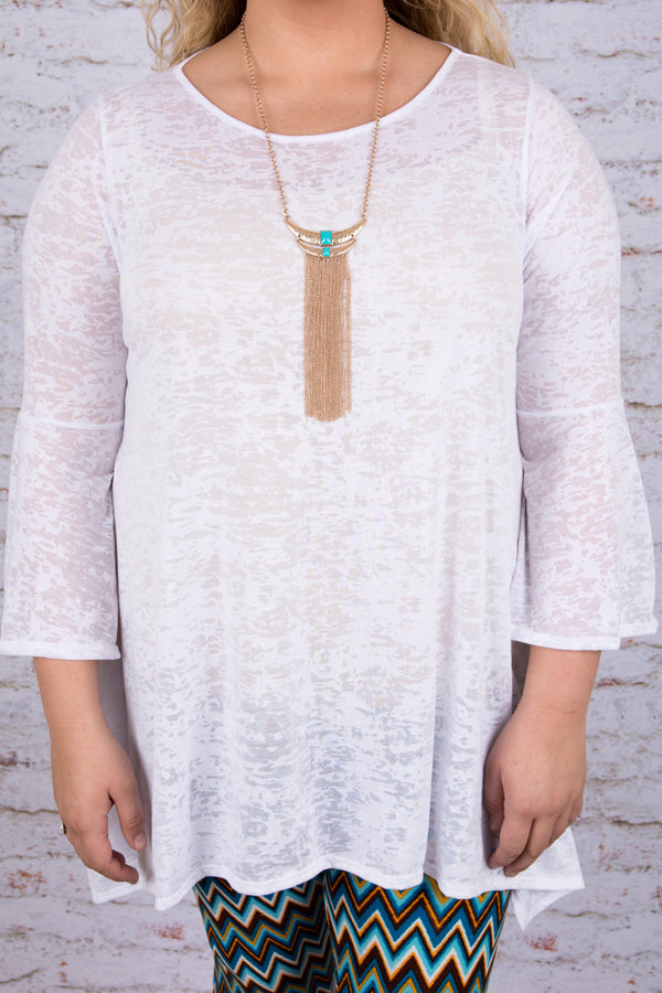 The Suzi Tunic, White