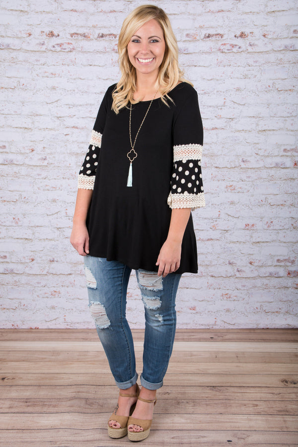 Sweet Spot Top, Black