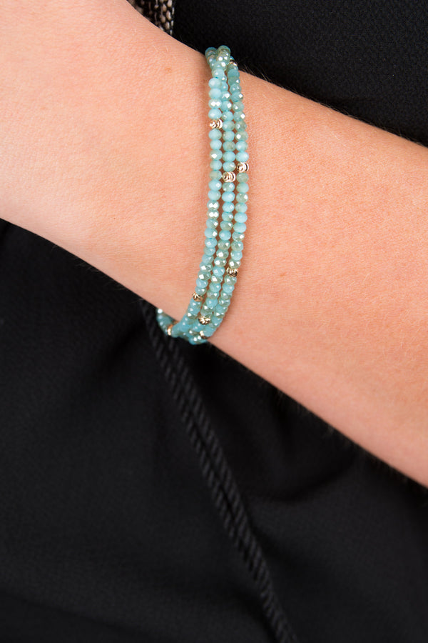 Such a Treasure Bracelet, Aqua