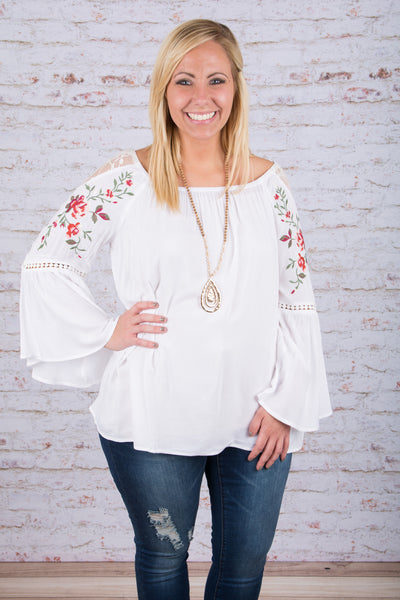 Soul Seeker Blouse, White
