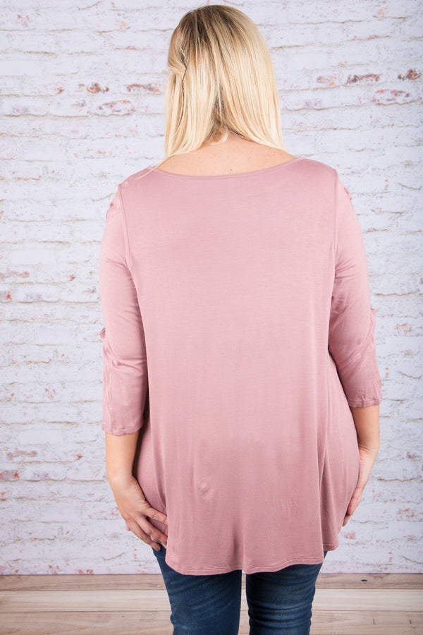 After Midnight Tunic, Mauve
