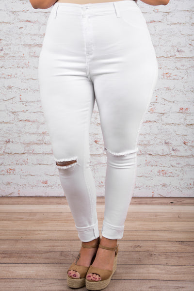 All Yours Skinny Jeans, White