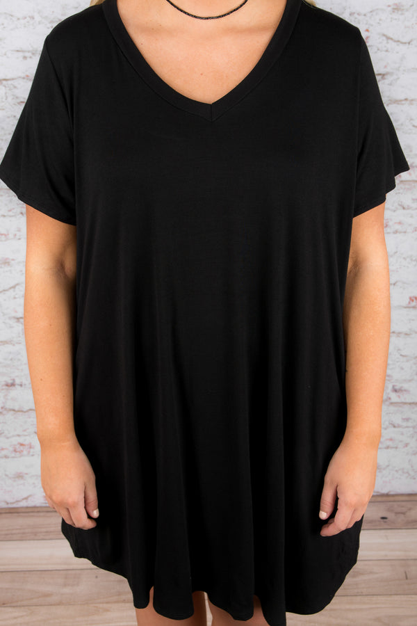 The Ellie Dress, Black