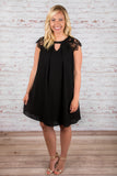 Buried Treasure Dress, Black