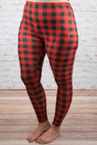 Off the Grid Leggings, Red