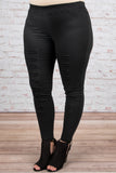 Tougher Than Most Jeggings, Black