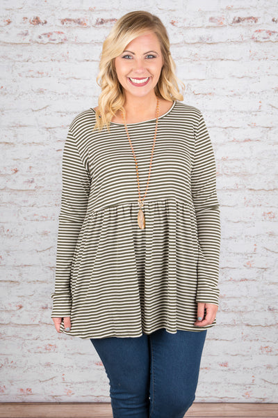Found Each Other Top, Olive