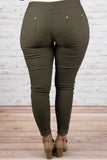 Unfinished Business Pants, Olive