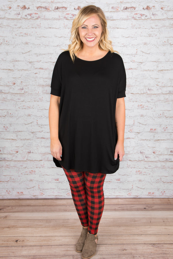 Carry On Tunic, Black
