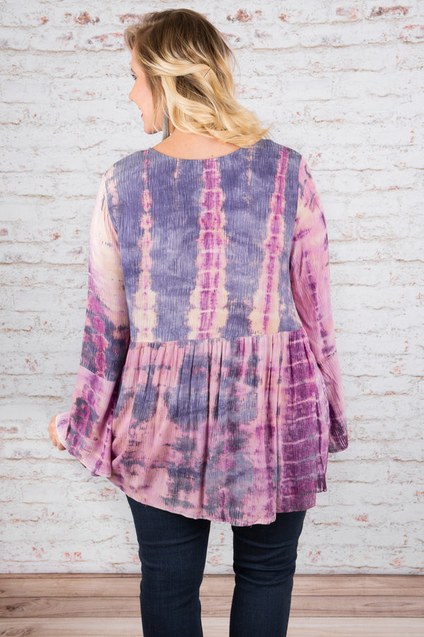 Dying to Meet You Top, Purple