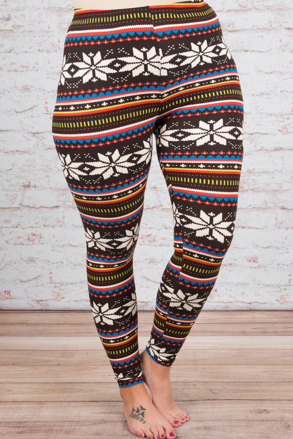 New Dawn Leggings, Brown