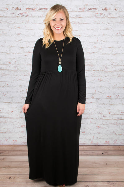 High Expectations Maxi, Black