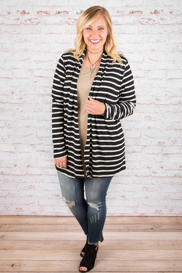 One Way Or Another Cardigan, Black