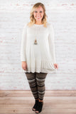 Easy On the Eyes Tunic, Ivory