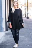Call It Destiny Tunic, Black