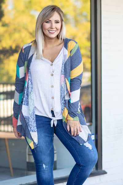 The Right Idea Cardigan, Multi