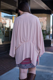 Just Breathe Cardigan, Blush