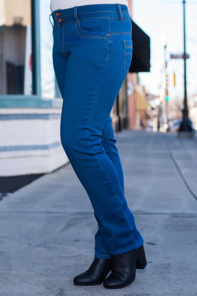The Gabby Jeans, Blue
