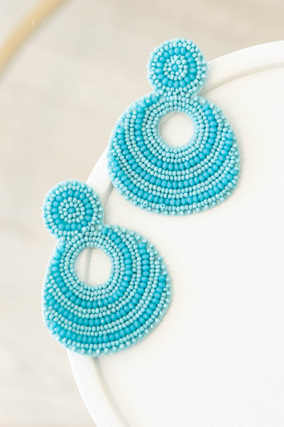 accessories, ear rings, dangle, turquoise