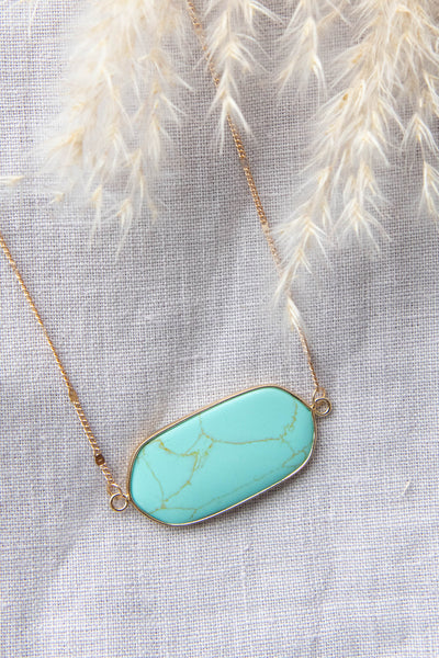 accessories, necklace, turquoise pendant, dangle