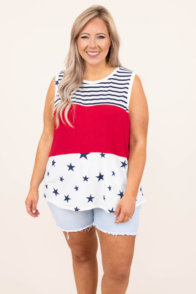Dock Daze Tank, Red