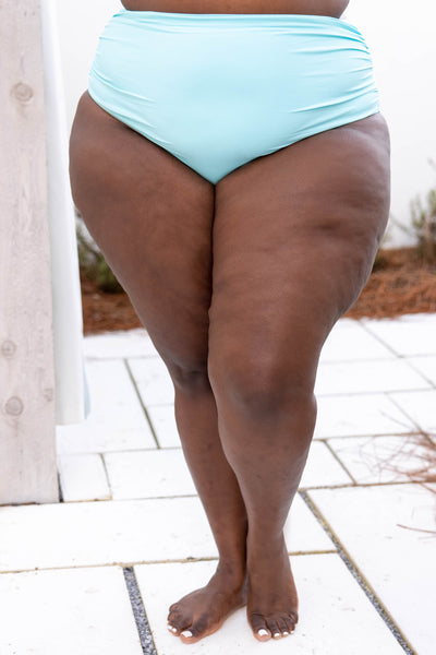swimsuit, bottom, mint