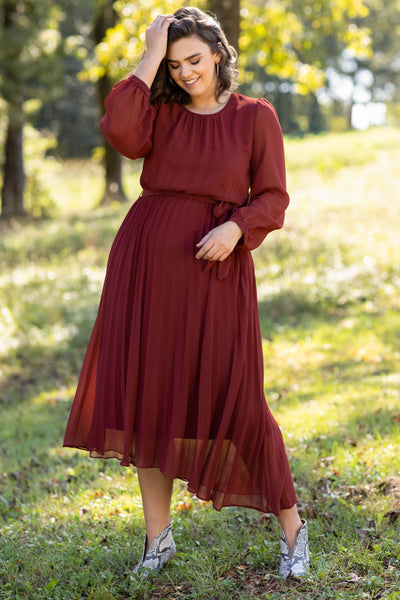 dress, special occasion dress, party dress, solid, long sleeve, winter, flattering, flowing