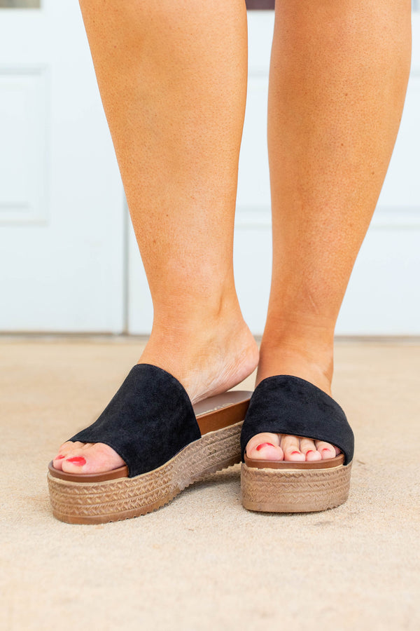 shoes, espadrilles, black, solid