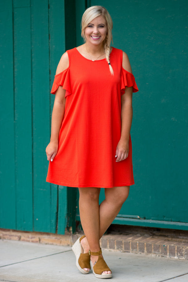 Dream Seeker Dress, Tomato