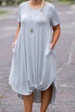 Shooting Stars Maxi Dress, Heather Gray