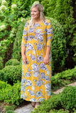 Changing The Rules Maxi Dress, Mustard
