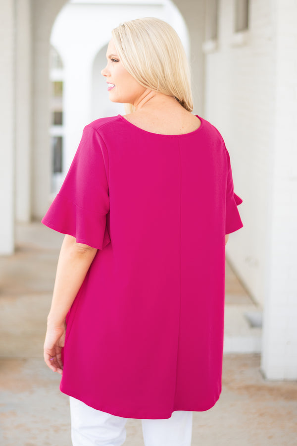Angelic Nights Top, Cherry