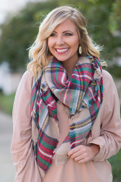 Autumn Air Scarf, Gray