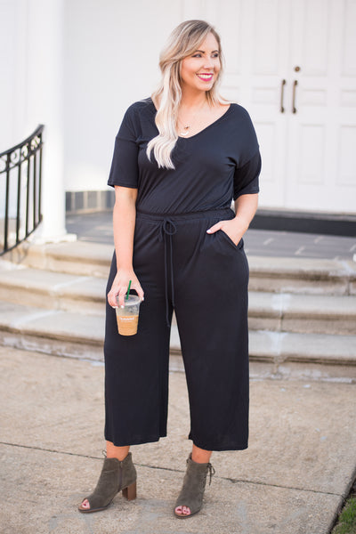 Capable And Ready Jumpsuit, Black