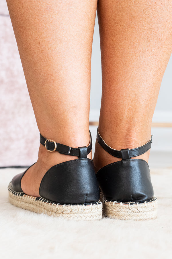 shoe, sandal, black, ankle strap, summer, spring