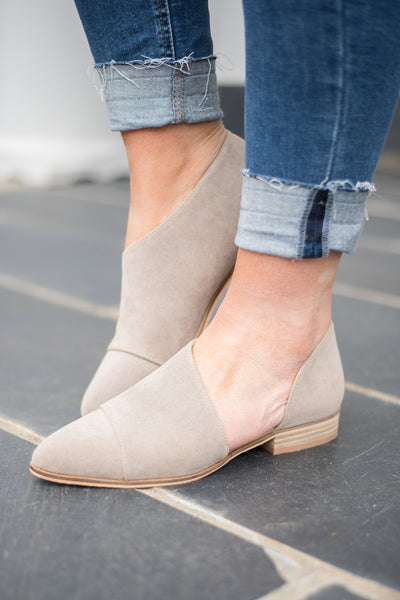 The Latest And Greatest Booties, Taupe