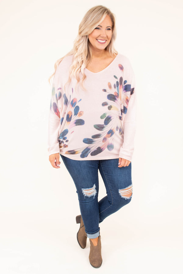 shirt, long sleeve, vneck, fitted, khaki, feathers, multicolor, crisscross back, comfy, fall, winter