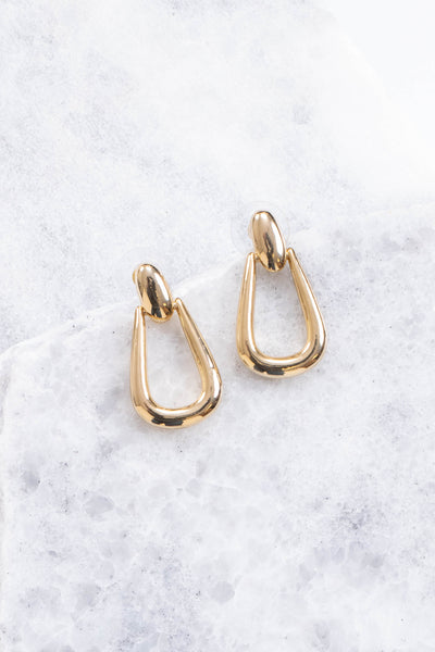 Gala-vanting Earrings, Gold