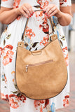 Rock With Me Purse, Tan