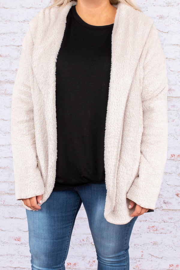 Cozy Days Ahead Jacket, Beige