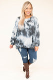 shirt, long sleeve, black, white, toe dye, comfy, fall, winter