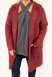 Everlasting Bliss Coat, Marsala