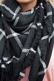 Brave The Cold Scarf, Black