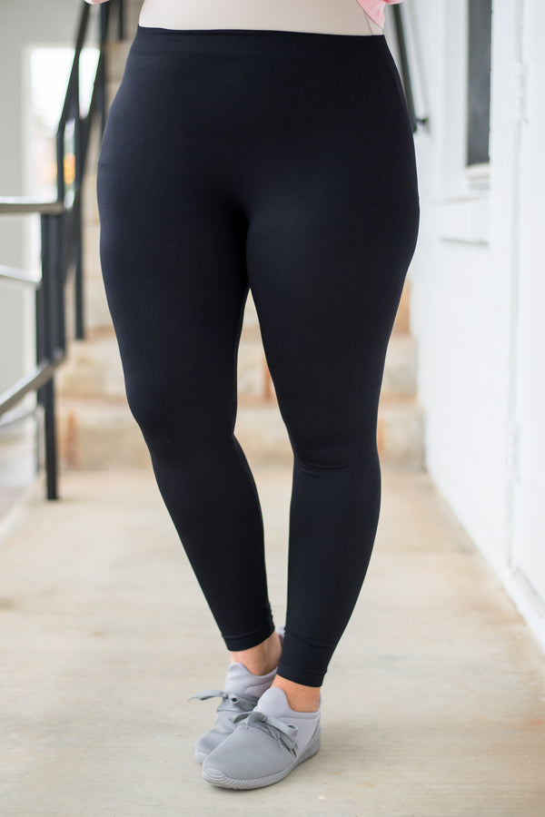 leggings, long, black, comfy