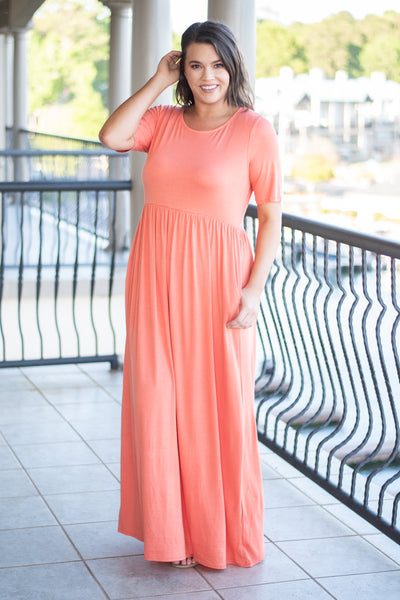 Shall We Dance Maxi Dress, Ash Copper