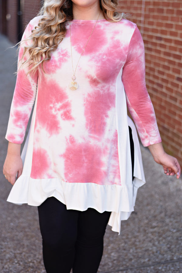 Up In the Sky Tunic, Pink
