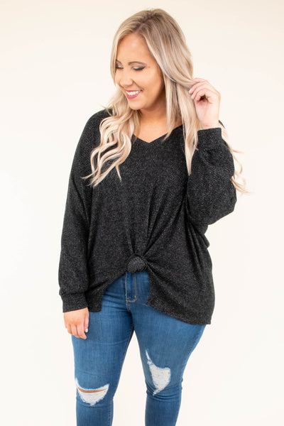 Unlimited Love Top, Black